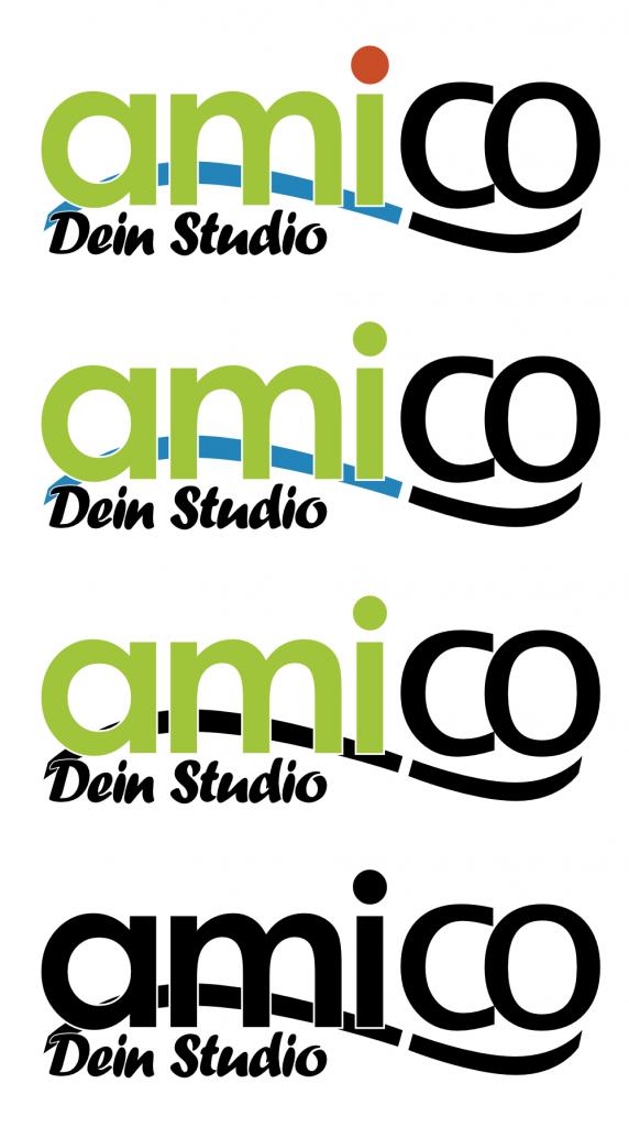 Amico Logo (Varianten)